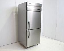 中古縦型冷蔵庫買取実績