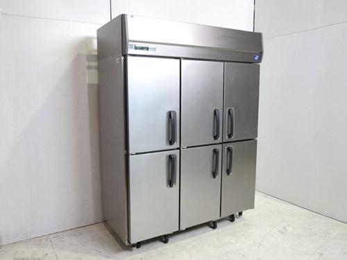 サンヨー 縦型6枚扉冷蔵庫 SRR-J1561V-3